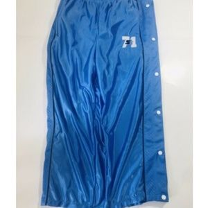 Vtg 90s STARTER  BreakAway blue Snap Athletic